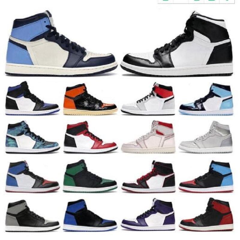 1S 높은 남자 신발 4 네온 블랙 1 낮은 연기 회색 여성 독감 게임 13s 하이퍼 로얄 스니커즈 트레이너 야외 농구 신발
