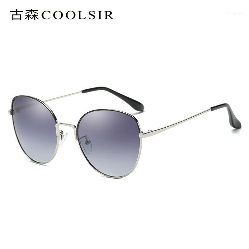Projeto de marca polarização óculos de sol mulheres polarized moda óculos de sol anti uv grande caixa oval senhoras dirigindo sol óculos1