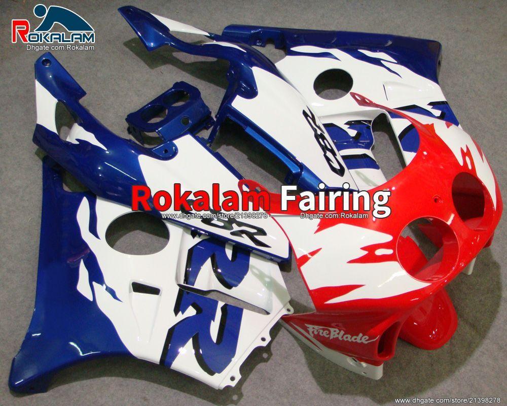 For Honda CBR250 MC22 1990 1991 1992 1993 1994 CBR 250RR 90 94 CBR250RR Multi-Color Fairings Set (Injection Molding)