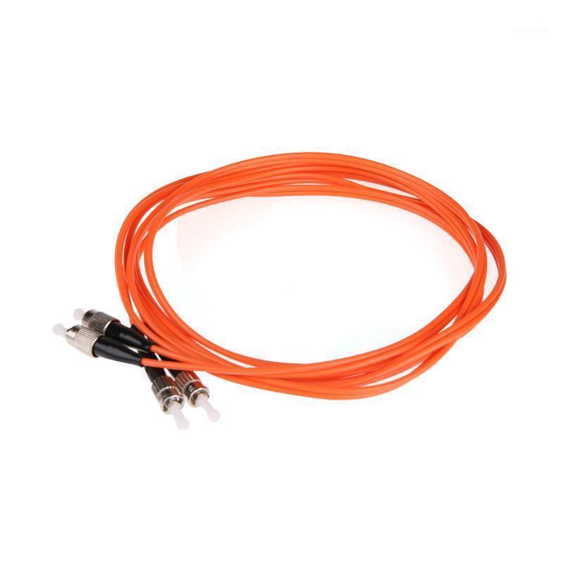 Équipement à fibre optique 50 paire Cordon de raccord de la paire FC ST UPC Multimode Duplex MM1 62.5 / 125 DX 1 3 5 10 20 100M Mètres FTTH Wholesale Custom Made1