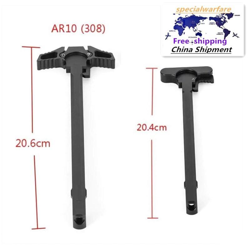 Taktische AR10-Teile-Zubehör M16 Billet .305Wertgriffe Fabrikauslassung