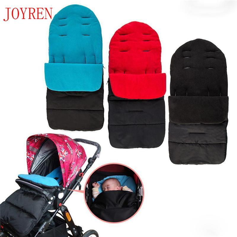 Baby Stroller Sleeping Bags Windproof Warm Thick Cotton PadWinter Toddler Universal Footmuff Cosy Toes Apron Liner Buggy Pram
