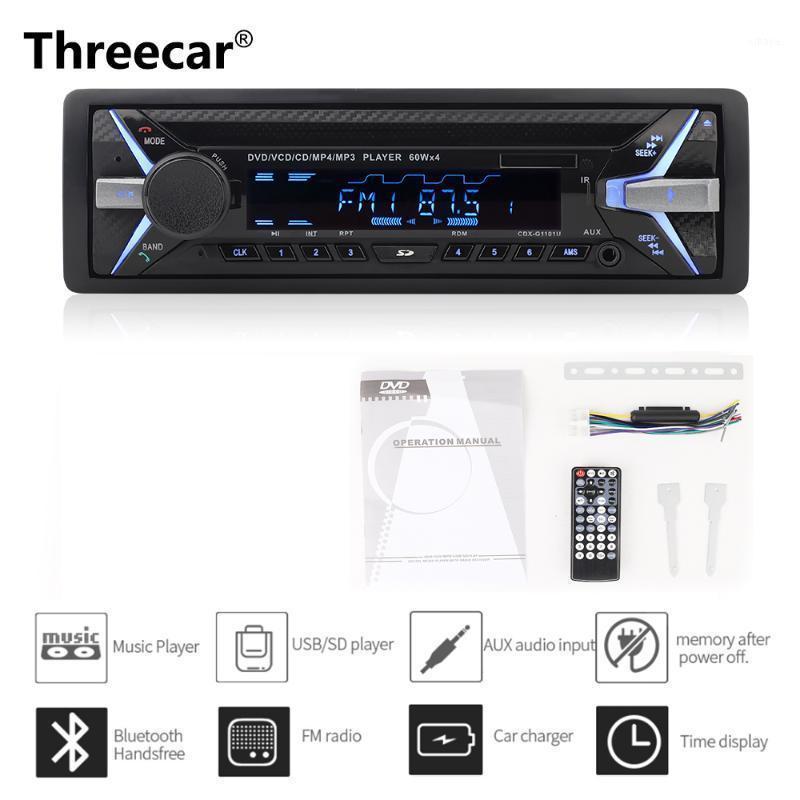 Dashboard 4 * 60W Auto DVD Radio Bluetooth FM CD-Empfänger VCD MP3 MP4 SD USB Single DIN CAR Multimedia-Player Fernbedienung1