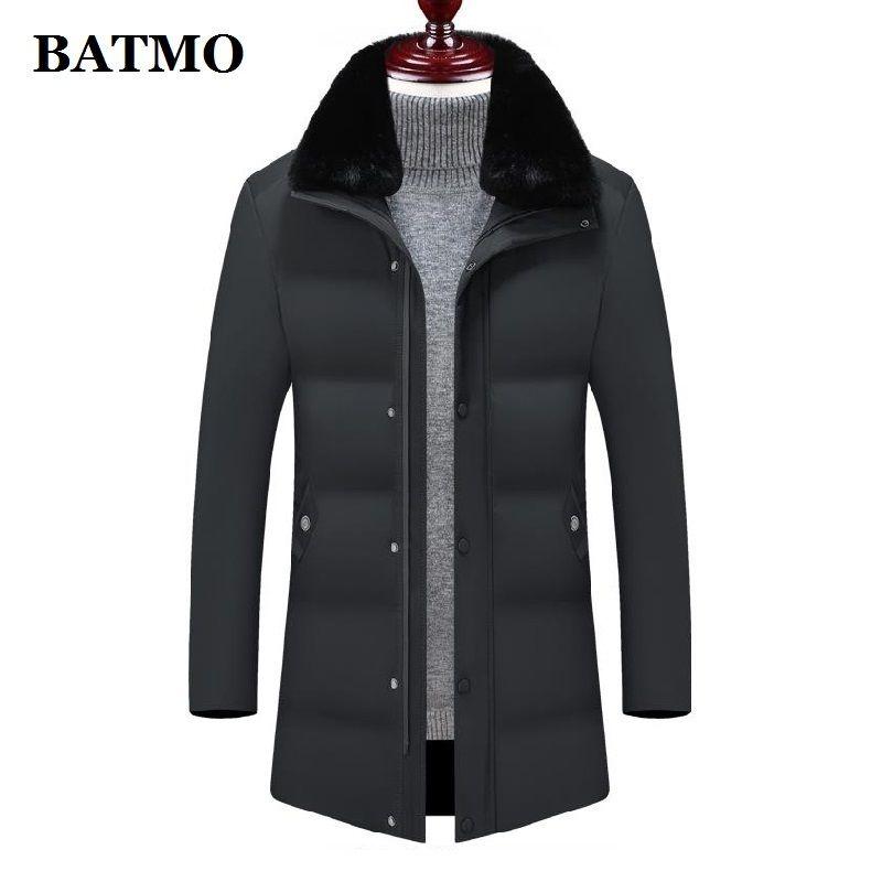 BATMO 2019 NOUVELL ARRIVÉE HIVER HIVER HAUTE QUALITÉ Hommes Parcs chauds, vestes épaisses pour hommes hommes, 8802
