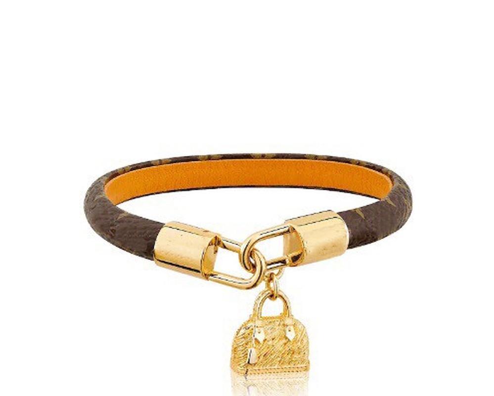 Mode Bijoux Love Lock V Bracelets Bracelets Pultsiras Cuir Bracelets en cuir véritable pour femmes / hommes