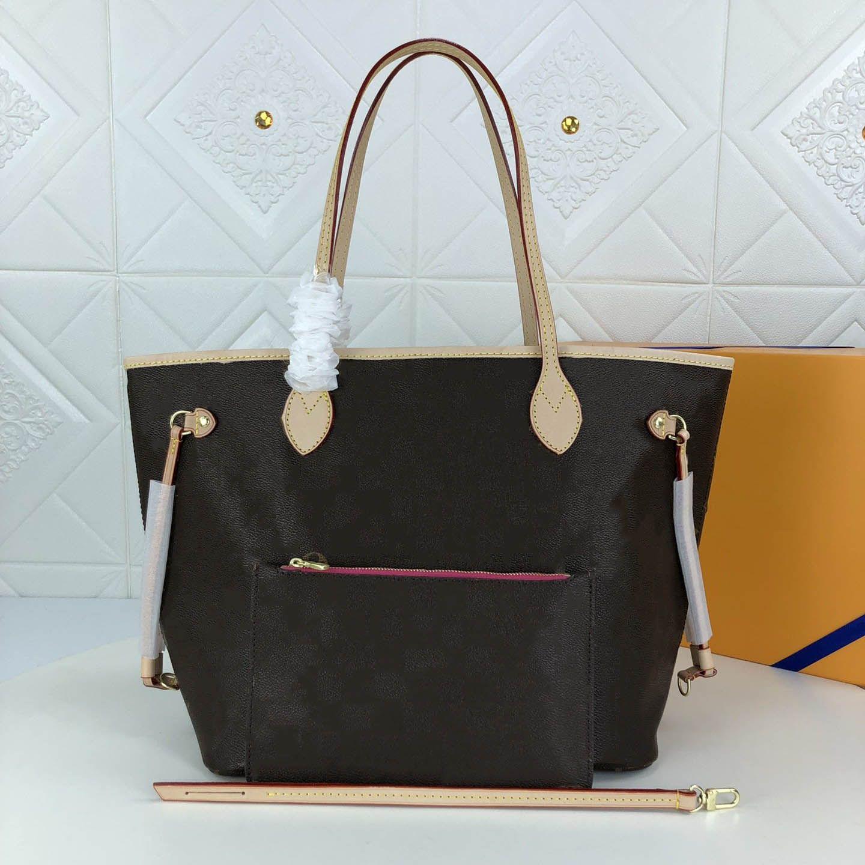 Capacità della nuova borsetta da donna Generosa pelle a spalla e grande borsa di progettazione di produzione alla moda confortevole 2021 DNCSL