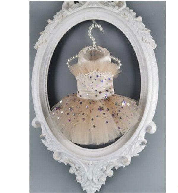 Пользовательские шампанское цветное звездное платье домашнее животное кошка и собака свадебное платье кошка и собака одежда