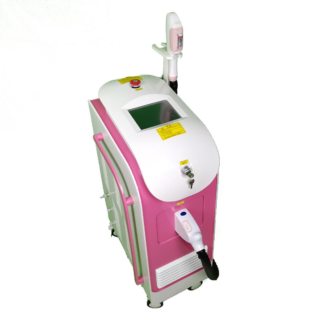 360 نظام ماغنيتو البصري 360 إزالة الشعر البصري المغناطيسي مع تجديد الجلد معدات الجمال العناية بالبشرة الوردي والأسود