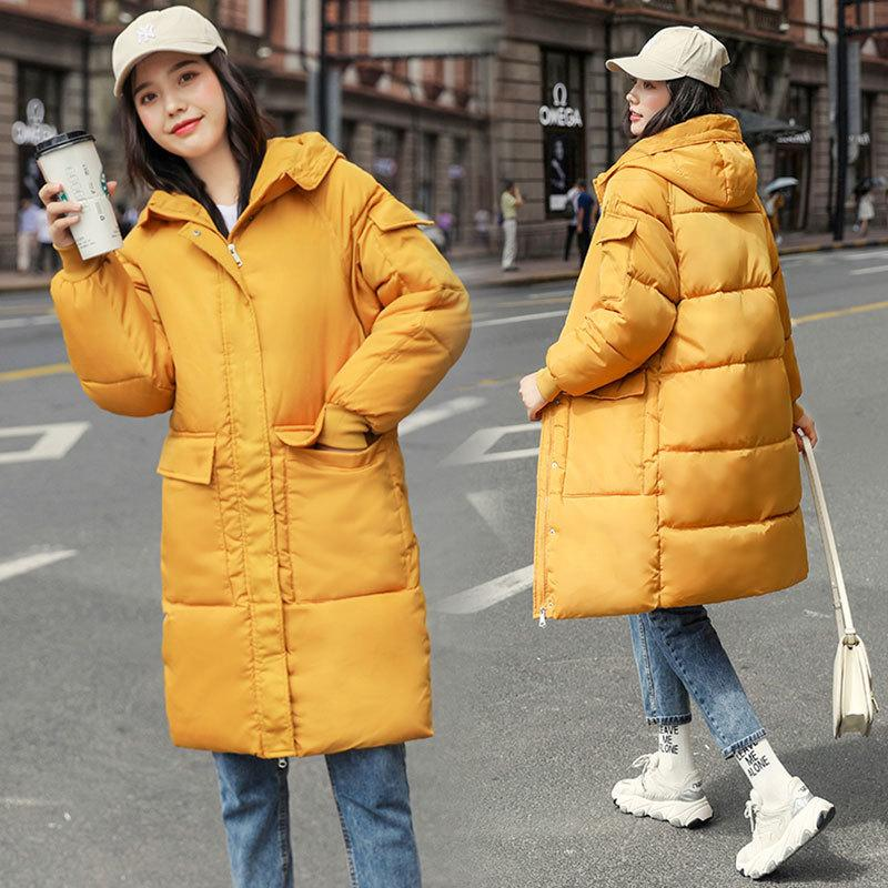 -30 degrees Women's Hooded Parkas Jackets Winter Thick Warm Women Clothes Female Jacket for Women Parka Winter Coat Plus Size 201211