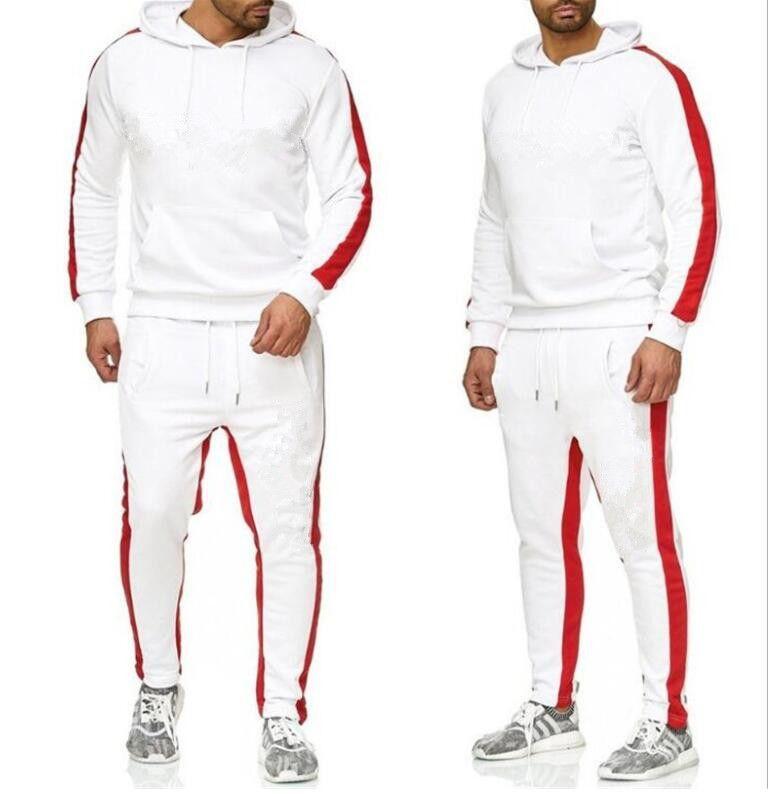 Homens Mulheres Sportswear Hoodie Moletom Com Moletons Sporting Terno Suor Sweat Sweat Chairsuits Juntar Calças de Hoodies Plus Size S-XXXL