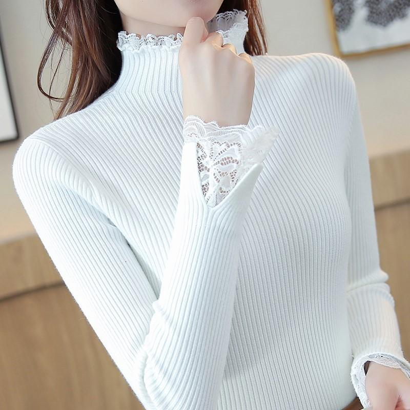 Coltrui Women 2020 Reindeer Winter New Elasticity Used Slender Effects Color Edge Mouw Trui Female
