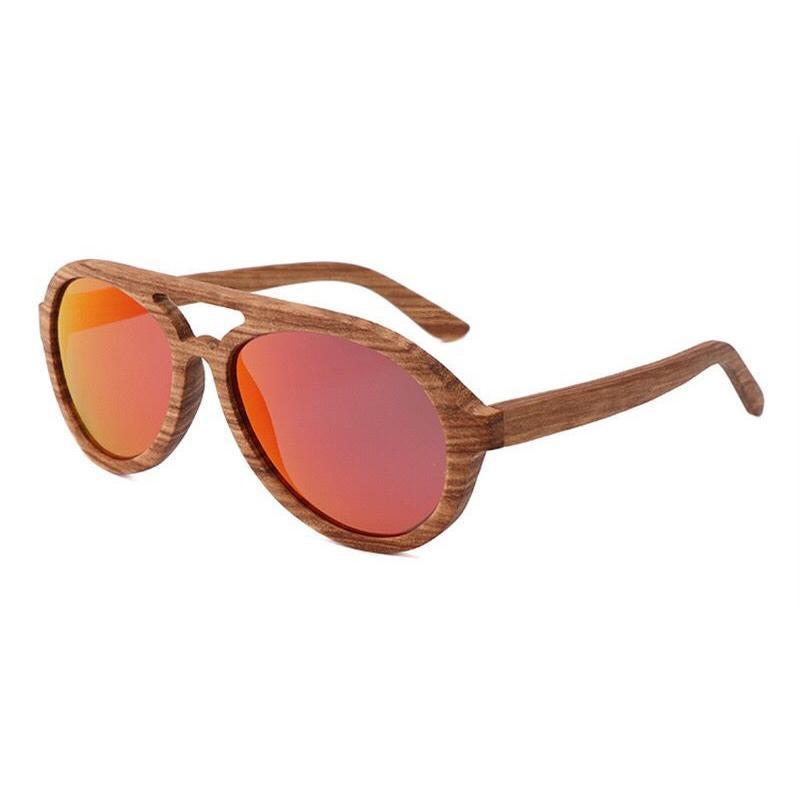 Brillen Hohl Männer Polarisierte Sonnenbrille Frauen Holz Bambus Retro Zebrano Marke Design Beach Handwerk Sonnenbrille High Grad Fadsi