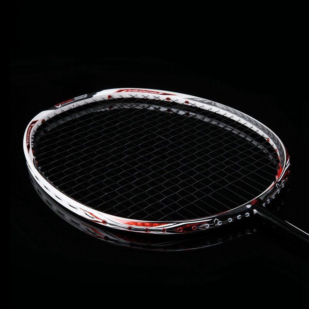 Ultralight 7U 67g Profesyonel Tam Karbon Badminton Raket N90III Sırt Badminton Raket 30 Lbs Sapları ve Çanta ile Q1121