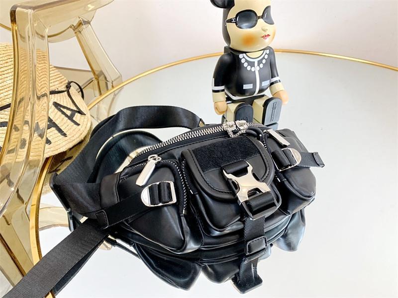 Style original Classic Neuf 2020 Noir Haute Qualité Cowhide Sac à main Femmes Mode Sac à bandoulière Sac à bicyclettes Sac d'enveloppe