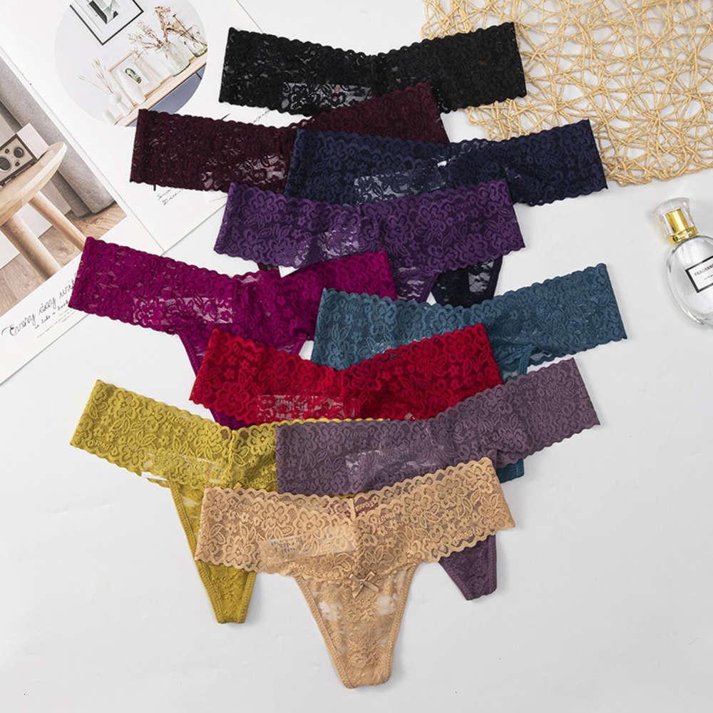 Neue große T-Pants transparente spitze sexy Unterwäsche frauen Baumwolldatei