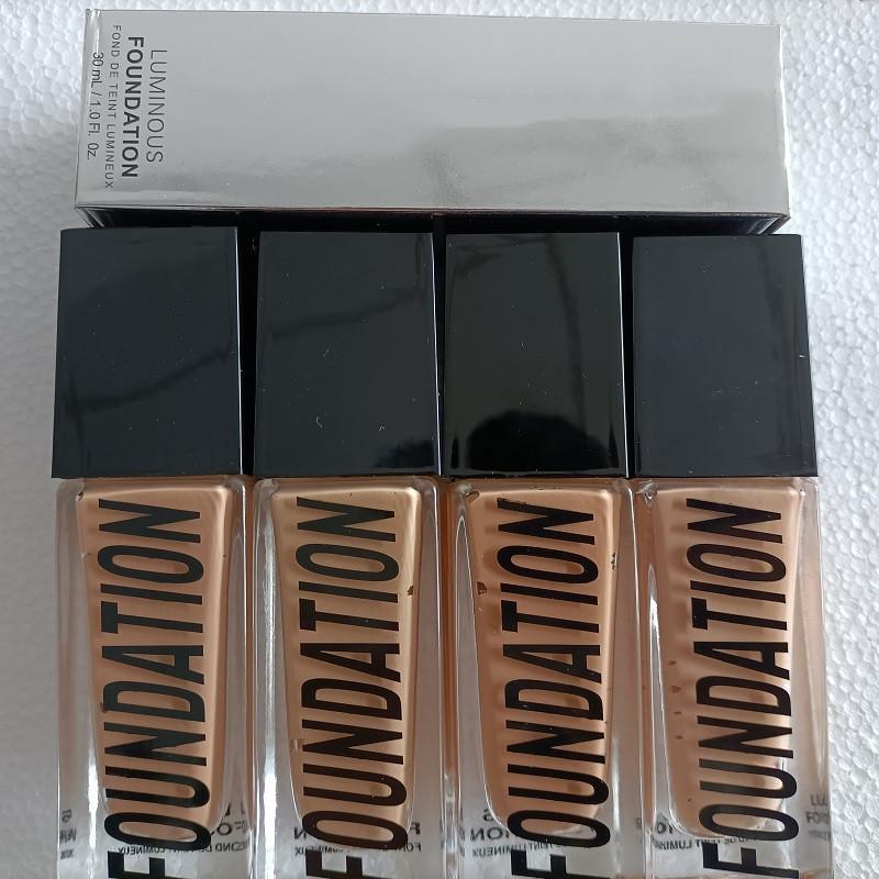 Fondation de maquillage 4 Couleurs Compagnie Maquillage Couverture Couverture Primer Compagnie Base Professional Face Maquillage, Livraison Gratuite