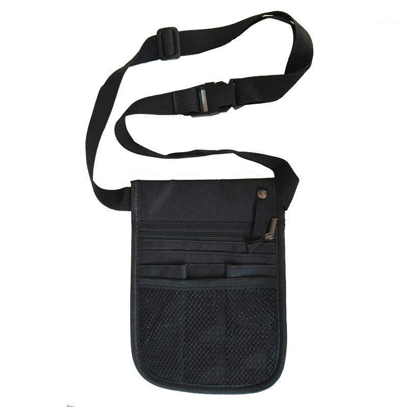 Bolsa de cintura do veterinário ajustável cinta cinta pack de cintura mulheres multi-função fanny pacotes organizador bum bolsa de bolsa impermeável Bag1