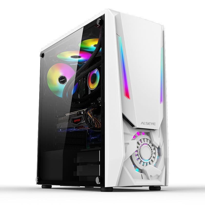 Pads de refroidissement pour ordinateur portable Alseye Réacteur WHITE ITX / M-ATX / ATX USB2.0 * 2 USB3.0 * 1 Tower Jeux