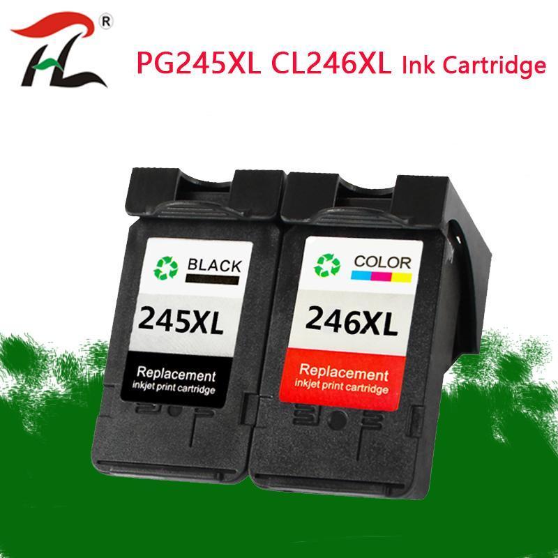 YLC PG245 CL246 Mürekkep Kartuşları Değiştirme Canon PG 245XL 245XL PIXMA IP2820 MX492 MG2924 MX492 MG2520 için 246XL