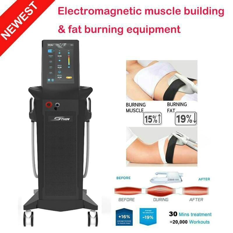 2021 다기능 Emslim 기계 슬림 바디 셰이퍼 근육 자극 기계 자극 근육 기계 Fast Free Shippment
