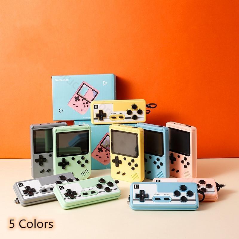 Console del videogioco di Macaron portatile 800 in 1 Retro 8 bit 3,0 pollici Assistenza LCD colorato Due giocatori