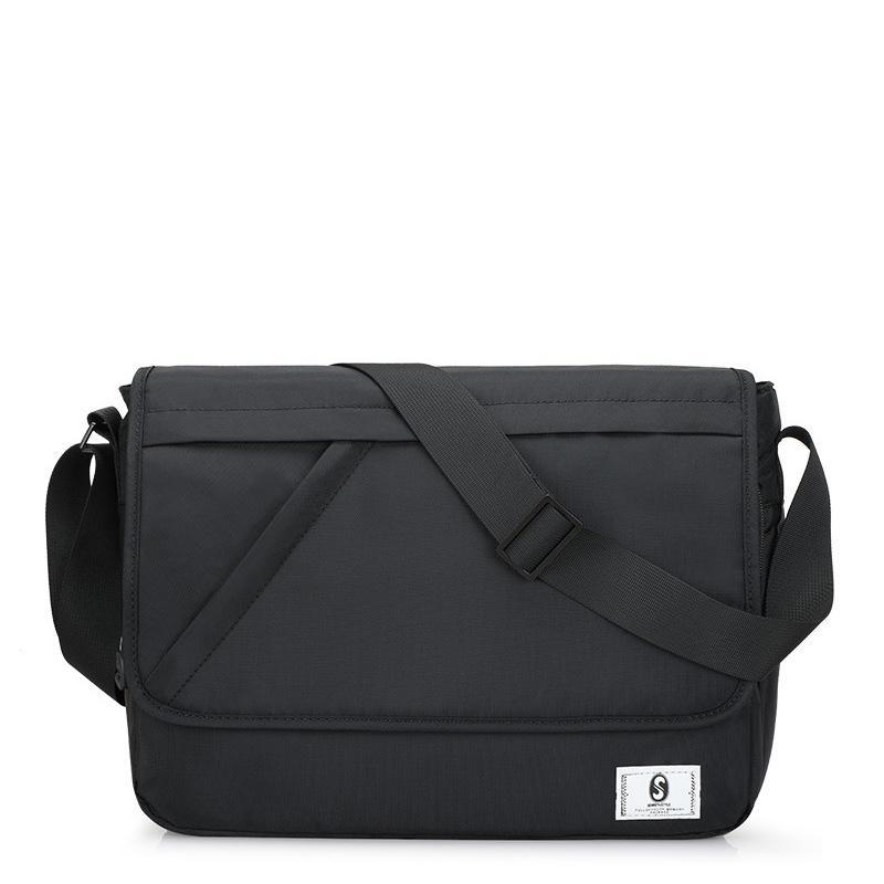 New Oxford Men's Briefcase Casual shoulder simple trend Korea personality Messenger bag Q0112
