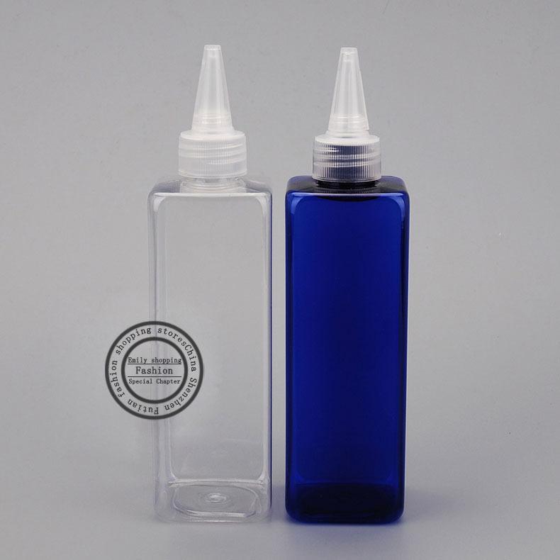 250 мл х 30шт квадратные пустые пластиковые бутылки контейнера с винтовыми колпачками, косметическими контейнерами для упаковки, DIY E-Jam Pet Bottle