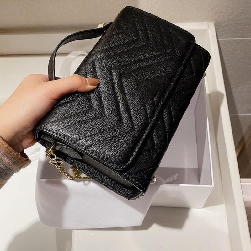 Designer Luxus Handtaschen Luxus Kette Handtasche Box Kamerasack Schulter Geldbörsen Dame Geldbörse Crossbody Mode Taschen Taschen Tasche mit Messe FACW