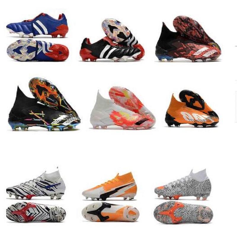 مزدوج مربع فلاش قرمزي رجل كرة القدم أحذية كرة القدم المرابط mercurial superfly vi 360 cr7 سوبرفلي المفترس هوس كرة القدم أحذية عالية الكاحل