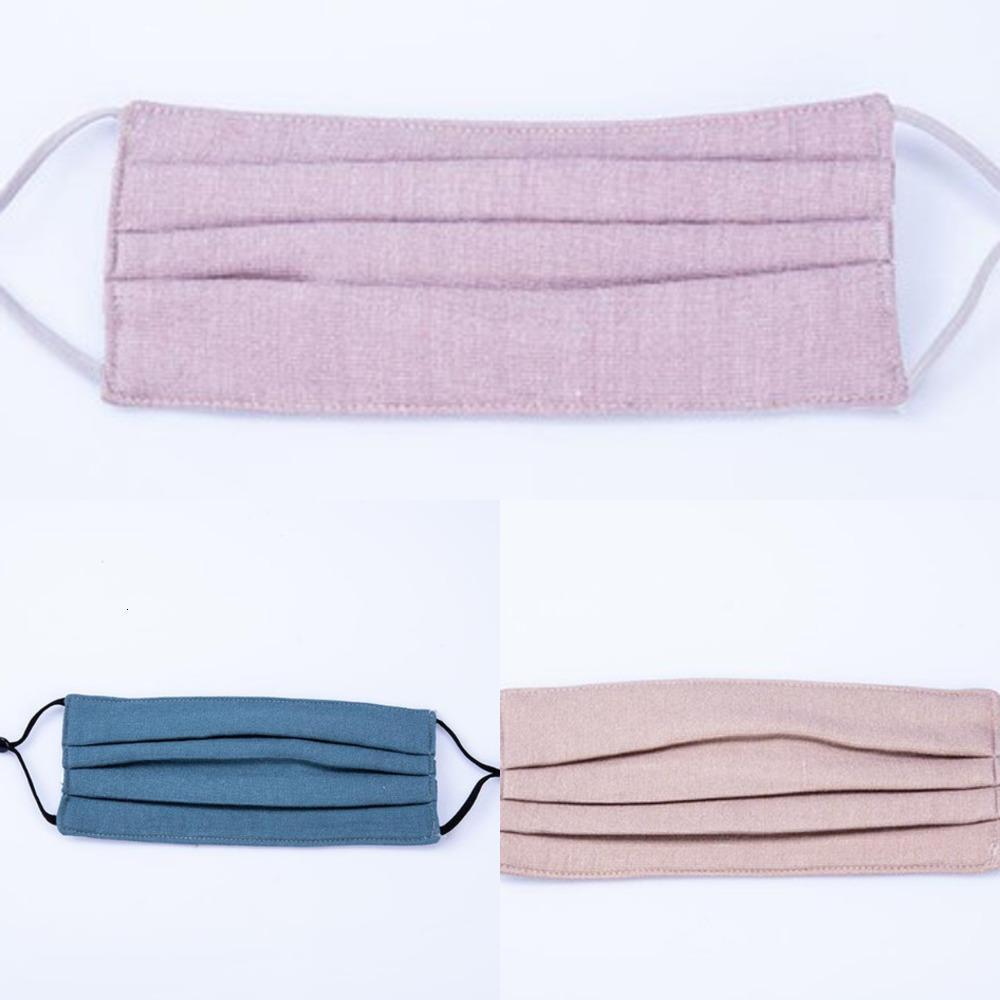 Poussette anti-poussière anti-protectrice lavable designeur d'adulte en tissu en coton enfants Mode Masque Bouche EWE31998AUX
