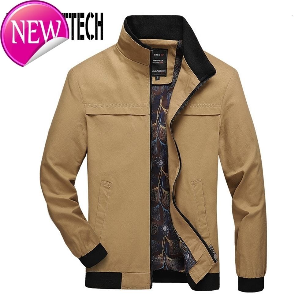 Autumn Winter Mens Jackets Stand Collar Warm Casual Men Jackets and Coats Big Size Male Military Bomber Jacket Jaqueta Masculino