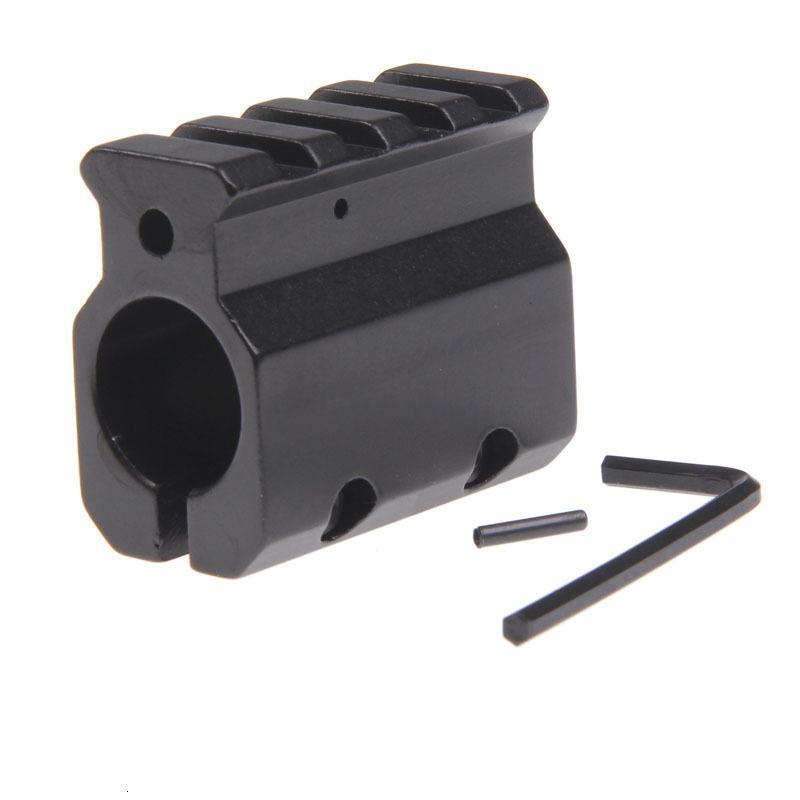 Регулируемый газовый блок-одиночный 20 мм пикатинни железнодорожный монтаж .223 LR-308 Баррель