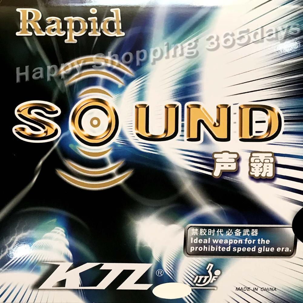 KTL Rapid-Sound Pips-In Table Tennis / Pingpong Резина с губкой Z1118