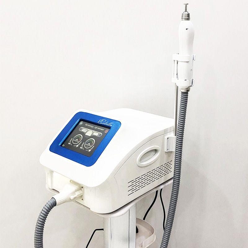 Taşınabilir Picosecond Dövme Kaldırma Lazer Makinesi Q Anahtarlanmış ND YAG Lazer Pico Pigment Kaldırma Koyu Spot Bencle Akne Temizleme Ekipmanları