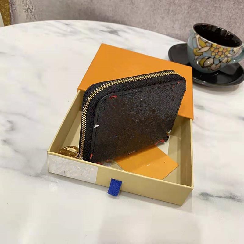 MS Baskı Para Klip Cüzdan Çanta Çanta Dana Kart El Çantası Paketi Unisex Çantalar Kadın Moda Zarf Kadın Cüzdanları Yüksek Kalite