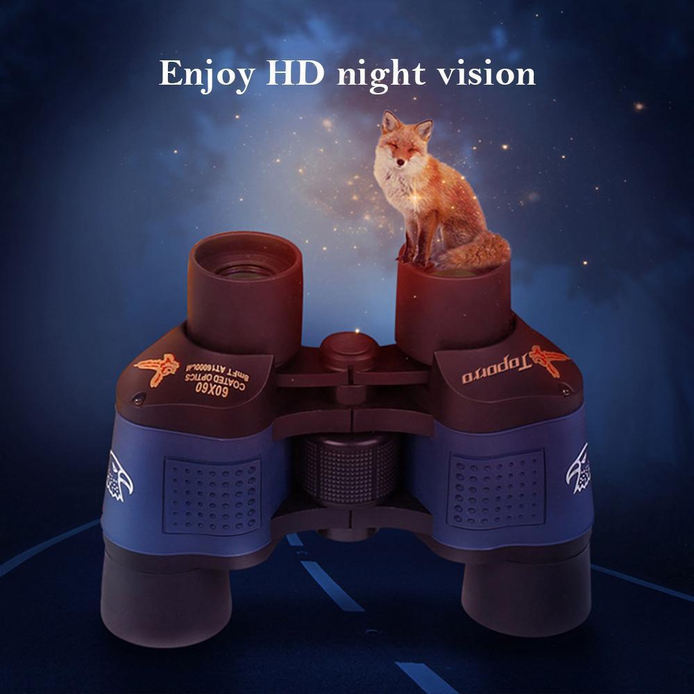 Ясность телескоп 60x60 Бинокли HD 10000m высокой мощности для наружной охоты Оптический Lll ночного видения Бинокль Fixed Увеличить