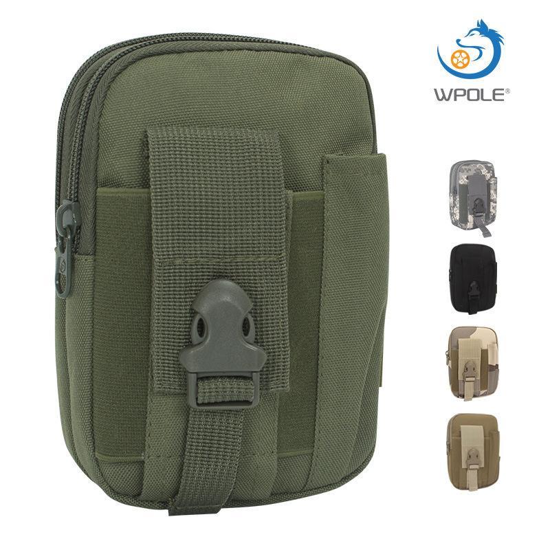 Камуфляж Тактическая талия открытый мобильный телефон отдых спортивный дюйм водонепроницаемый подвесной сумка
