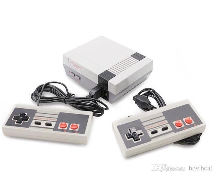2021 La nuovissima mini TV Can Store 620 500 Game Console Video Palmare per console di giochi NES con scatole di vendita al dettaglio DHL GRATIS