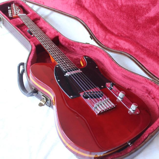 شحن مجاني / فير / جورج هاريسون الغيتار / 6 سلسلة الغيتار الكهربائي / روزوود الأصابع / TL الغيتار الكهربائي / مع hardcase