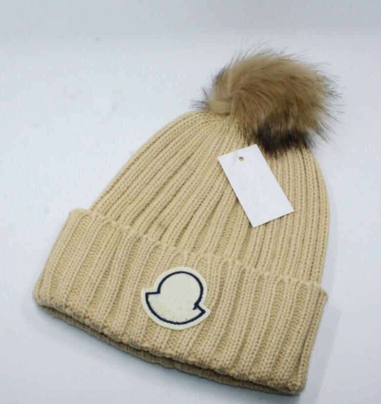 2021 프랑스 패션 망 디자이너 모자 모자 겨울 비니 니트 양모 모자 플러스 벨벳 모자 Skullies 두꺼운 마스크 프린지 비니 모자 모자 manv