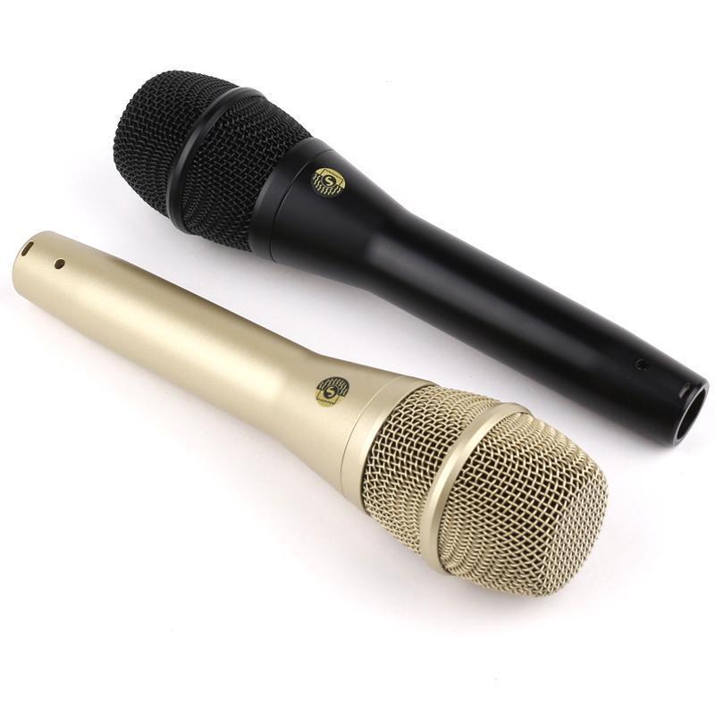 Ksm8 por cable micrófono ksm9 dinámico cardioide micrófono vocal micrófono de mano de karaoke profesional para show de desempeño en vivo
