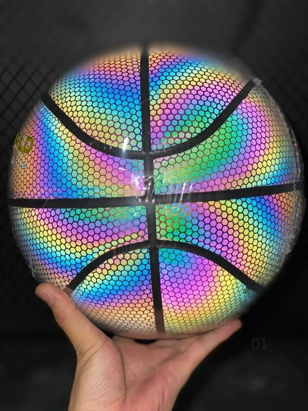Commercio all'ingrosso di pallacanestro di gomma stampato personalizzato