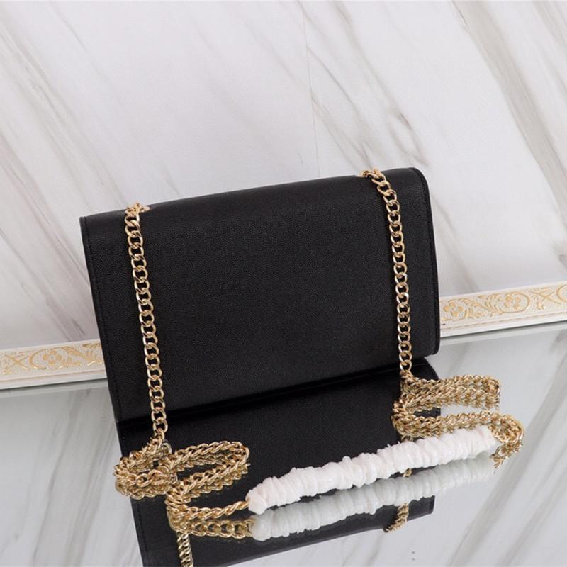 2021 Bolsas de moda de caviar de alta calidad Cadena de caviar Dama de lujo One Hombro Ocio Contratado Contratado Hombro Bolso Bolso para mujer
