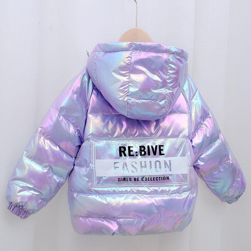 Красочный Детская Новая вниз хлопка куртка с капюшоном Верхняя одежда девушок мальчика младенца зимы осени пальто малышей девушки одежда 2020