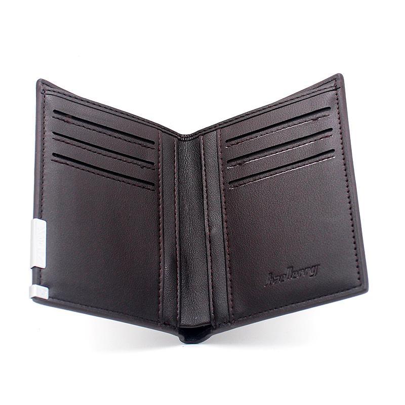 Klassischer Christus Heilig-Kreuz-Druck-Mappen-Leder-Geldbeutel für Herren Kreditkartenetui Short Männlich Schlank Münze Geld-Taschen