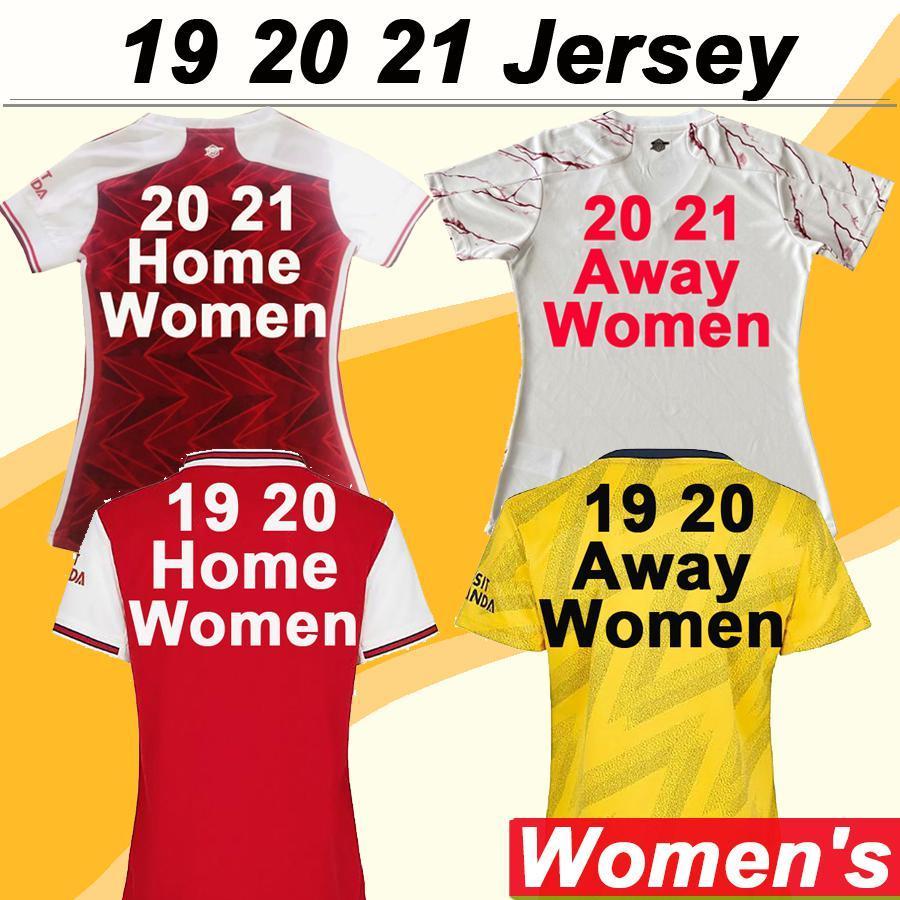 NCAA 2019 2020 2021 MUJERES Jerseys de fútbol Home Amarillo de distancia 3RD Mangas cortas Chica Camisas de fútbol 19 20 Moda Lady Uniforms Bajo precio Venta