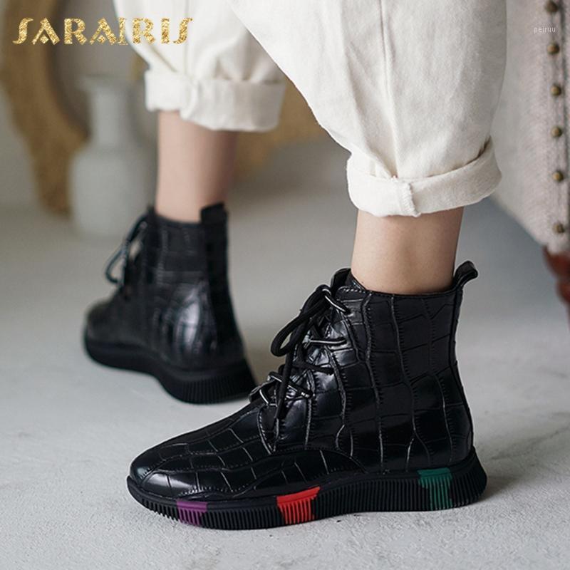 LAPOLAKA 2020 NOUVEAU MODE COMMISSION COMFY CHAUSSURES Bottes Femmes Bottes Femelle Talons Low Heels Spring Fashion Bottes Chaussures Femme1