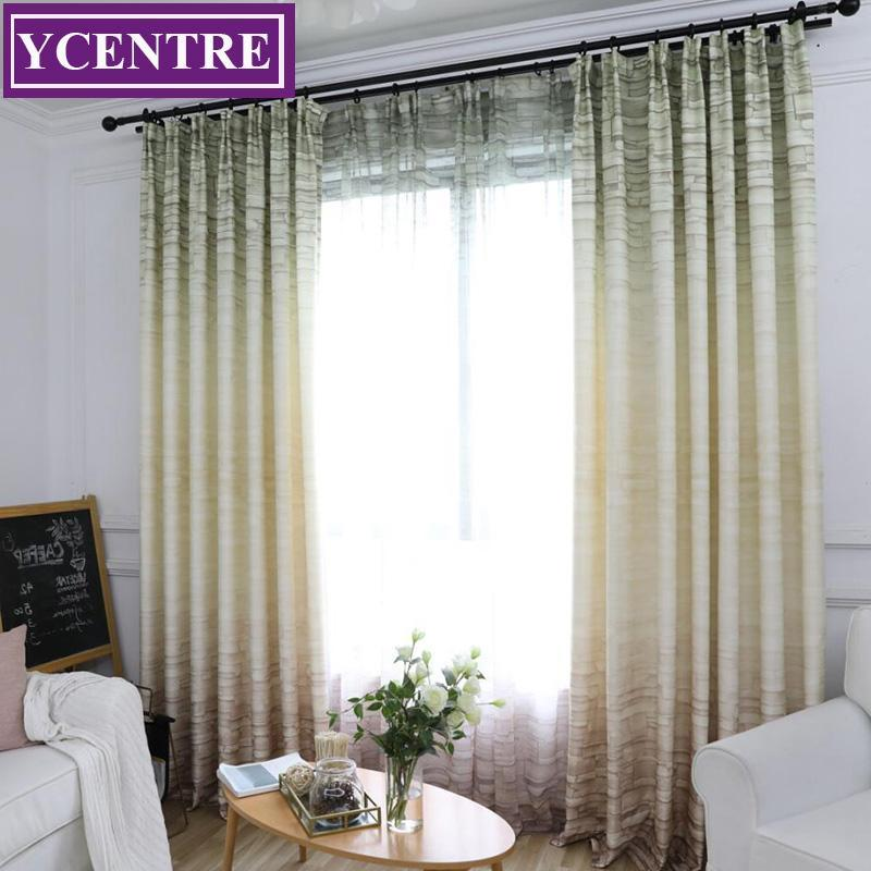 YCENTRE Decorative Wall Pattern Window Room Darkening Curtain Noise Blocking Drapes for Bedroom Living Room Curtains Panel