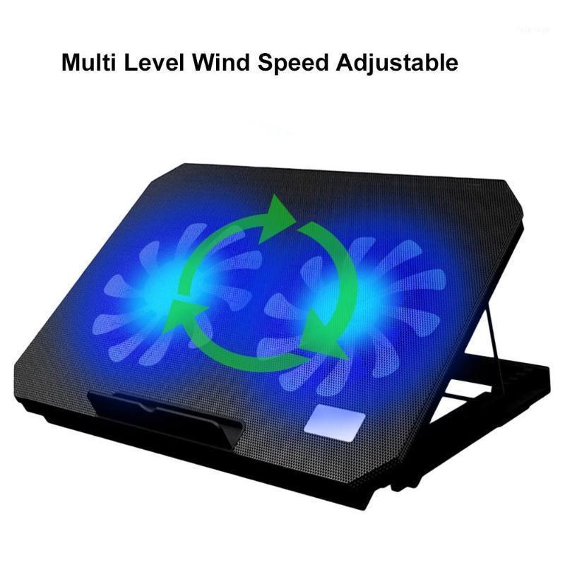 USB-порт 2 Охлаждающие вентиляторы Ноутбук Охладитель для ноутбука Регулируемый Угол Стойки Удобный и Драйв