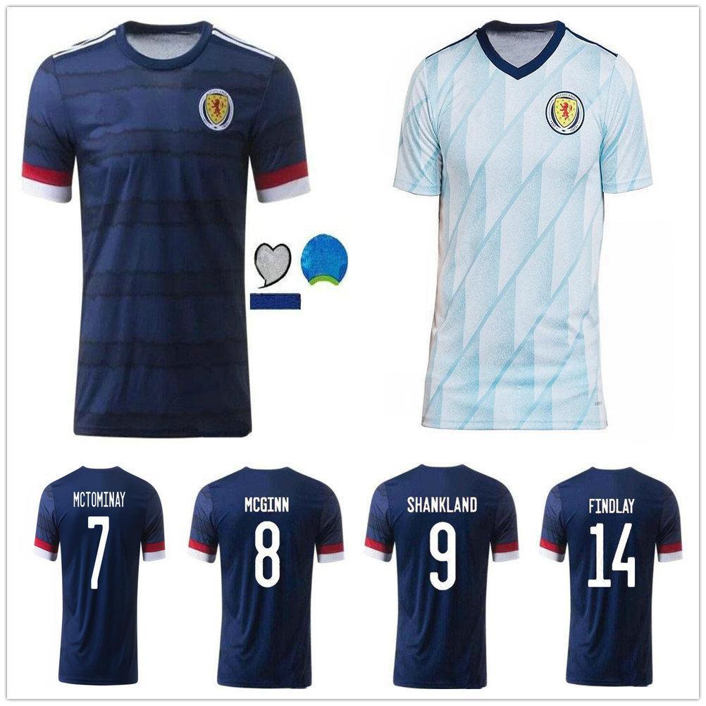 Men + Kids Kit 20 21 Scotland soccer jersey 2020 2021 ROBERTSON FRASER NAISMITH MCGREGOR CHRISTIE FORREST MCGINN home away football shirt